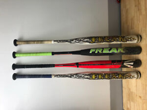 Miken / Easton softball bats