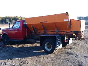 '93 ford f350 plow and salt truck