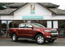 2018 Ford Ranger 2.2 TDCi Limited 1 Double Cab Pickup 4dr Diesel Auto 4WD (160 p