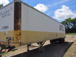 53 Foot Truck Tractor Trailer Outside Storage Farm Use