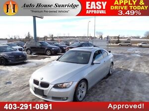 2007 BMW 3-Series 335i Coupe Leather Sunroof!!!