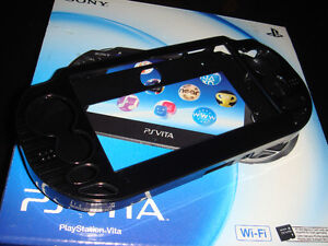 PS VITA-ÉTUI ALUMINIUM/STRONG CASE-NOIR/BLACK (NEUF/NEW)