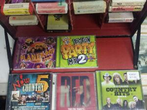 CD's & Track Case