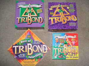4 Tribond board games-Complete, excellent condition London Ontario image 1