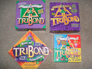 4 Tribond board games-Complete, excellent condition
