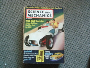 Science & Mechanics vintage Magazines