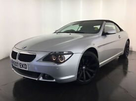 2007 BMW 630I SPORT AUTOMATIC CONVERTIBLE SERVICE HISTORY FINANCE PX WELCOME
