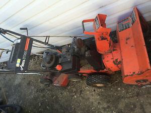 Parting out Ariens snowblower