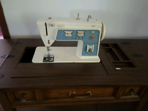 Machine à coudre SIGNER 776 sewing machine vintage avec meuble