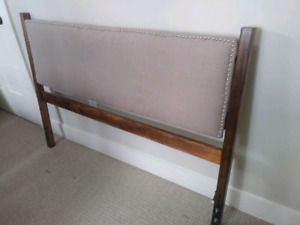 Headboard and Bed Frame