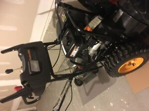 """Moving Sale - 24"""" Snow Blower excellent condition"""