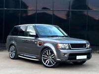 "Range Rover Sport 3.0TD V6 auto 2010 HSE 22"" SVR ALLOYS +2012 STYLING"