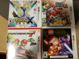 Two 3DS Games