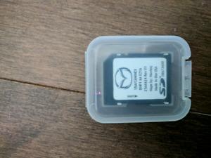 GPS TomTom carte SD Mazda