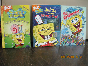3  SPONGEBOB     BOOKS   LIKE  NEW      2005