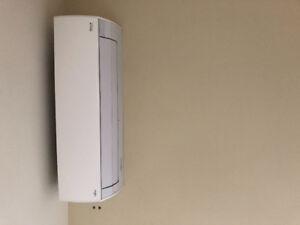 3x Halcyone Fujitsu wall mounted air conditioner + heat pump