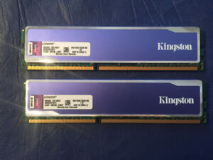 Kingston 16gb DDR3-1600Mhz Desktop Memory (Tested, Passed)