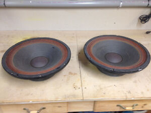 """15"""" RCF SUBWOOFERS"""