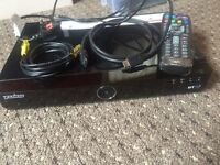 BT YOUVIEW box with all cables and remote 500gb