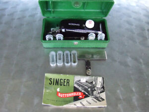 Singer Vintage Buttonholer with 9 Templates #160506