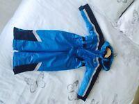 Snow suit aged 3