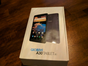 "Tablette Alcatel A30 android 8"" (unlocked)"