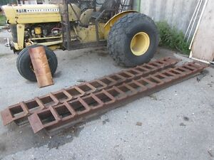 Heavy Bulldozer Ramps