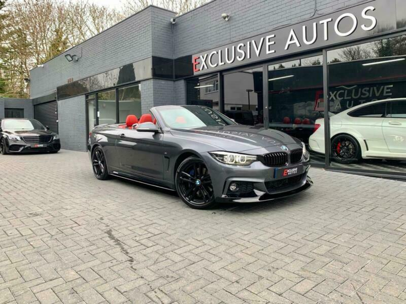 2018 BMW 4 Series 420d [190] M Sport 2dr Auto [Professional Media] CONVERTIBLE D