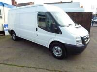 Ford Transit 2.2TDCi ( 125PS ) ( EU5 ) 350L Med Roof Van 350 LWB 2012 1 owner