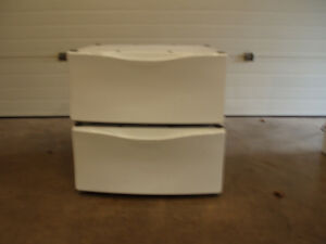 Two pedistals for front load washer and dryer