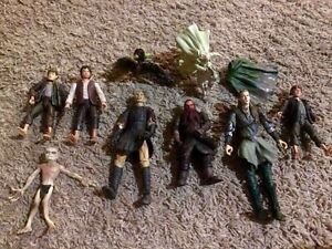 LORD OF THE RINGS/HOBBIT FIGURINES COLLECTION!!