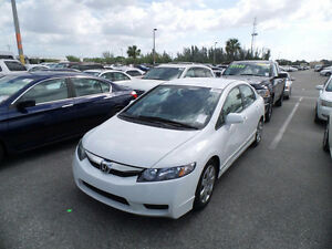2010 HONDA CIVIC LX, AUTO, 122K ONLY, EXCELLENT / CERTIFIED