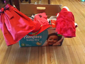 Girl clothes size 12-24 months