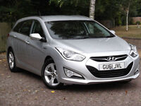 *REDUCED TO CLEAR* Hyundai i40 1.7TD Active Blue Drive*FSH*£30 TAX*NEW CLUTCH*