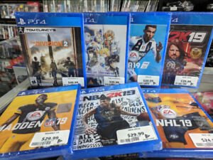 PS4 NEW SEALED GAMES ON SALE @ GAME HOARD