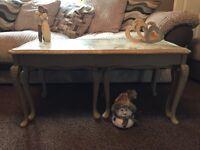Shabbily Chic nest of 3 tables