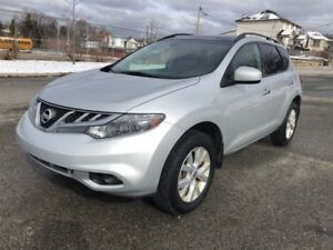 2012 Nissan Murano SL AWD Pano Roof Back Up Cam Leather