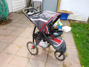 Graco fast action jogger, click connect