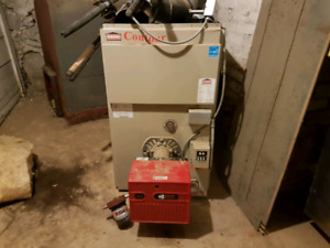 Large oil furnace, 7 years old - lots of years left