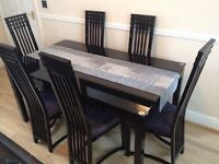 CASABELLA dining table / table & chairs