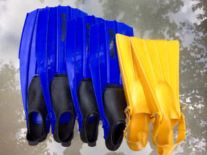 Quality Kids Italian Swimming Fins (Euro 34-39) All 3 for $20