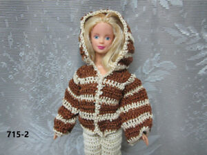Fashion Doll Clothing - Handmade - for dolls such as Barbie