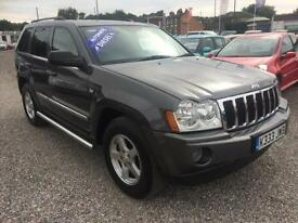2005 JEEP GRAND CHEROKEE 3.0 CRD Limited 4x4 Auto DIESEL REAR ENTERTAINMENT