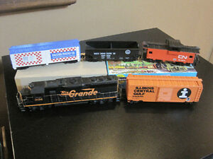 HO Scale Model Train Set