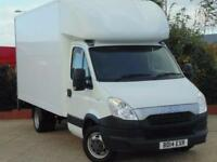 2014 Iveco Daily Luton With Tail Lift 3750 WB 2 door Luton Van