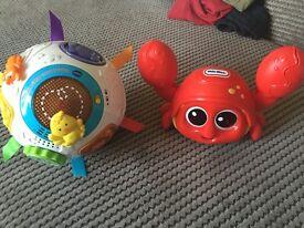Crawling toys