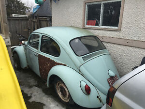 1965 vw beetle project for sale