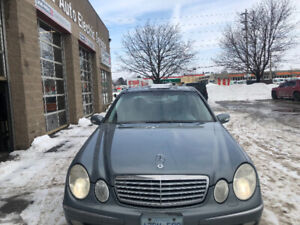 2004 Mercedes E500 for sale