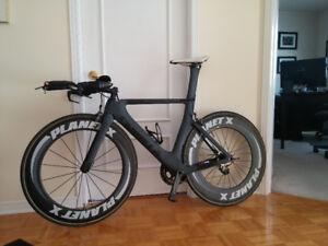 Vélo triathlon TT 5'8 à 6'1 PlanetX Exocet2