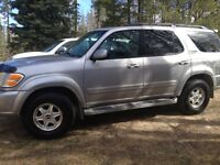 2001 Limited Toyota Sequoia